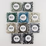Starter Pack of 250 Complete KAM Snaps/Plastic Snap Sets for Cloth Diaper/Bibs/Unpaper Towels/Nappies/Buttons/Mama Pads