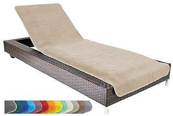 Brandsseller Serviette Plage De Longue Pour Cm X 75 Environ Chaise 100Coton CmTaupegrey75x200 200 xBCrdeo