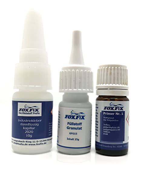 The All Plast - 5X 20 g Industrial Adhesive Glue Welded with 2x 60g