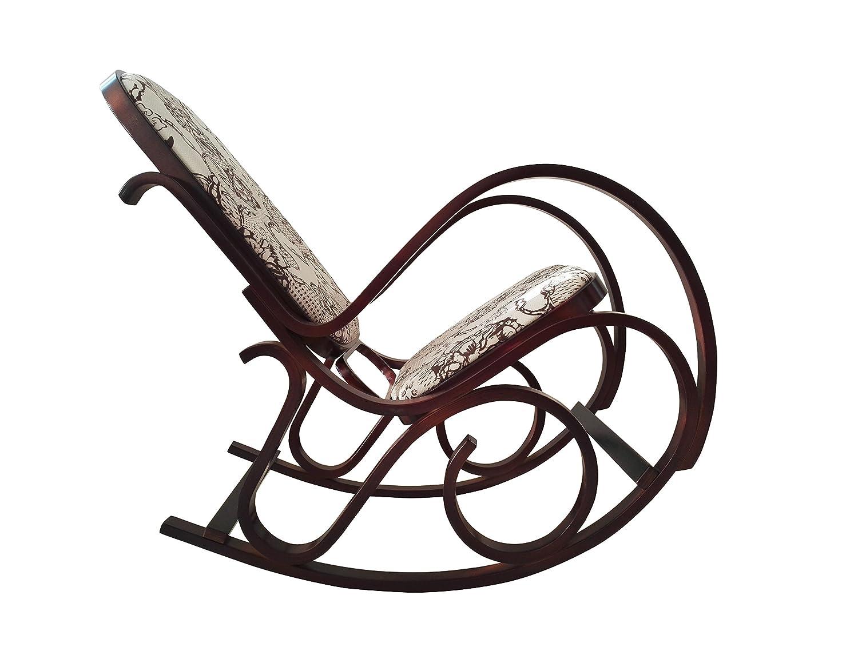 Mecedora Thonet Diseño Salón de jardín Sillón Silla Cocina ...