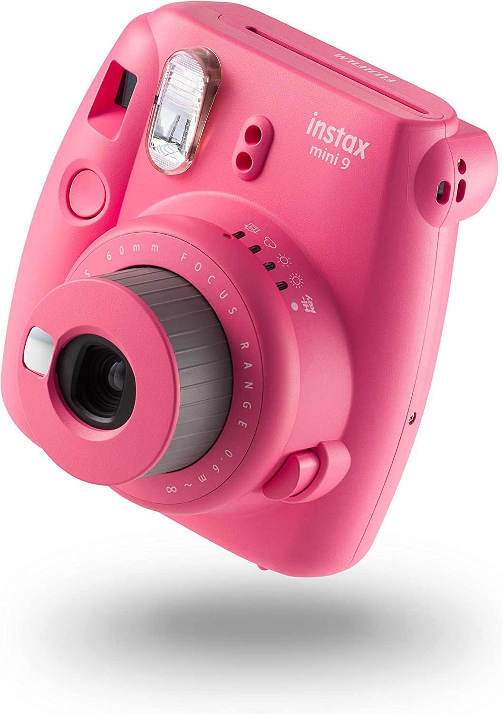 Fujifilm Instax Mini 9 - Cámara instantánea, Cámara con 10 películas, Rosa: Amazon.es: Electrónica