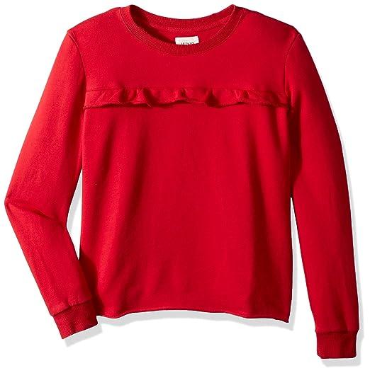 c4e239096cb Amazon.com: Hudson Jeans Girls' Sevy Ruffle Top: Clothing
