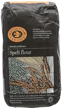Doves Farm – wholemeal orgánicos espelta Harina – 1 kg ...