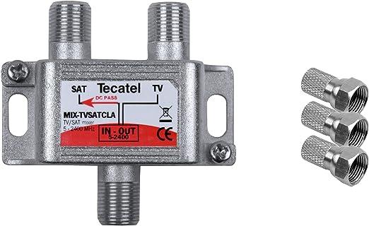Tecatel TV Satélite - Mezclador de señal satélite y televisión ...