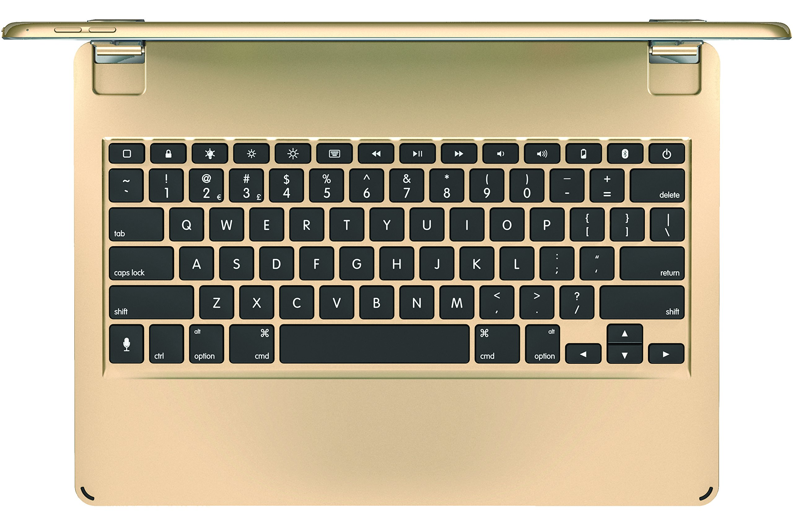 Brydge 12.9 Bluetooth Keyboard for 12.9'' iPad Pro (Gold) by Brydge (Image #3)