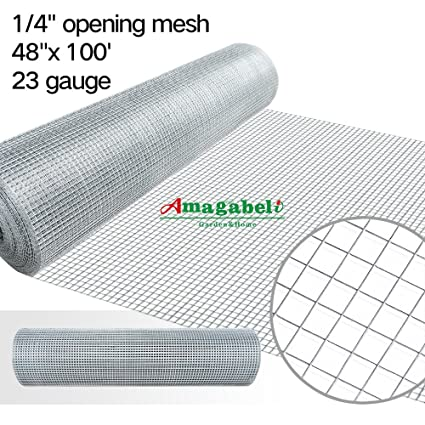 48x100 hardware cloth 14 inch galvanized welded cage wire 23gauge 48x100 hardware cloth 14 inch galvanized welded cage wire 23gauge fence mesh roll garden keyboard keysfo Image collections