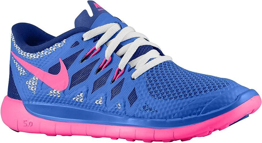 Nike Unisex niños 644446 Zapatillas de Running de competición Azul ...