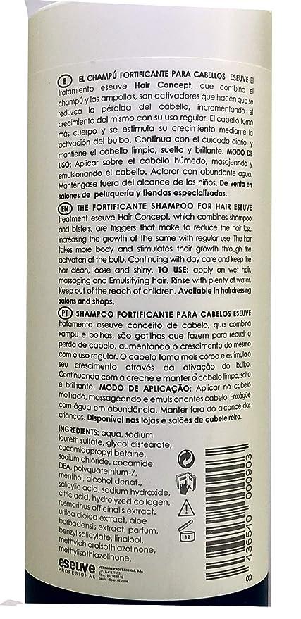 Champú AntiCaída Fortificante Revital Eseuve 800 ml