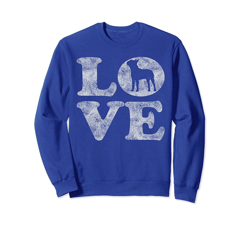Retro I Love My Boston Terrier Sweatshirt-AZP