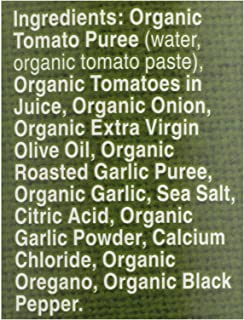 product image for Organic Fat Free Roasted Garlic Pasta Sauce 25.50 Ounces (Case of 12)