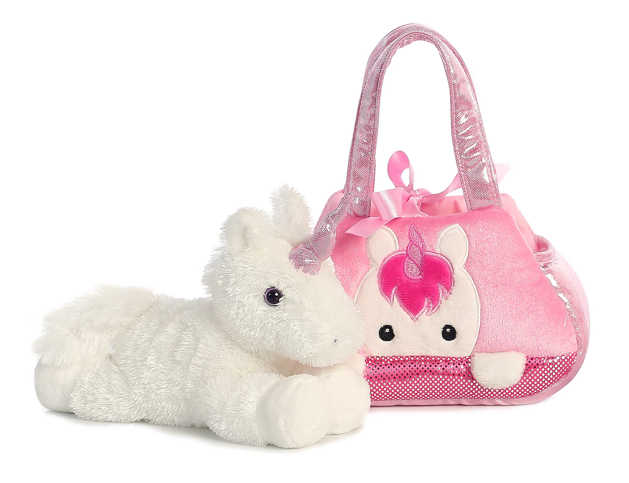 Aurora World Fancy Pals Pet Carrier, Peek-A-Boo Unicorn 4