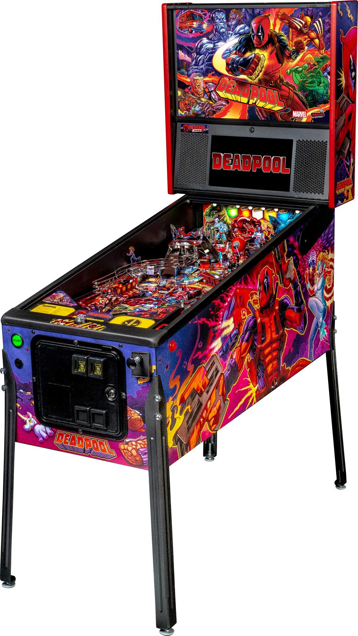 Stern Pinball Deadpool Arcade Pinball Machine, Pro Edition by Stern Pinball