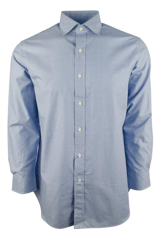 Polo Ralph Lauren Mens Houndstooth Twill Dress Shirt At Amazon Mens