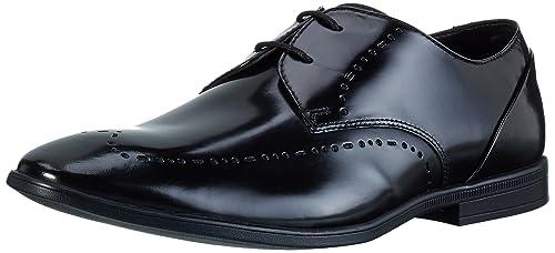 Bampton Limit, Derby para Hombre, Marrón (Tan Leather), 43 EU Clarks