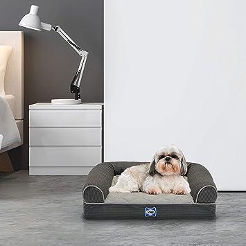 Amazon.com: Sealy - Cama ortopédica para perro, sofá de ...