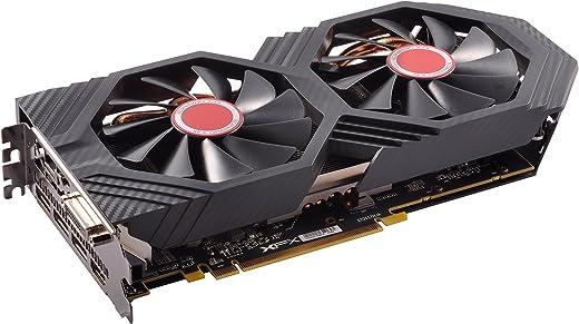 XFX Radeon RX 580 GTS XXX الإصدار 1386MHz OC+، 8GB GDDR5، VR جاهز، BiOS ثنائي، 3xDP HDMI DVI، بطاقة رسومات AMD (RX-580P8DFD6)