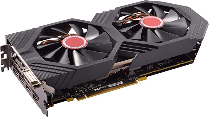 XFX Radeon RX 580 GTS XXX Edition OC 8 GB GDDR5 3xDP/HDMI/DVI-D Graphics Card - Black: Amazon.co.uk: Computers & Accessories