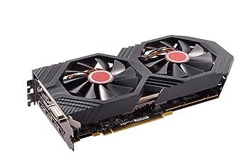XFX Radeon RX 580 GTS XXX Edition OC 8 GB GDDR5 3xDP/HDMI/DVI-D Graphics  Card - Black