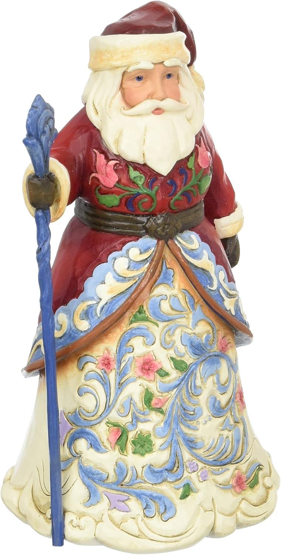 Enesco Jim Shore Heartwood Creek Norwegian Santa 4053705 Figurine