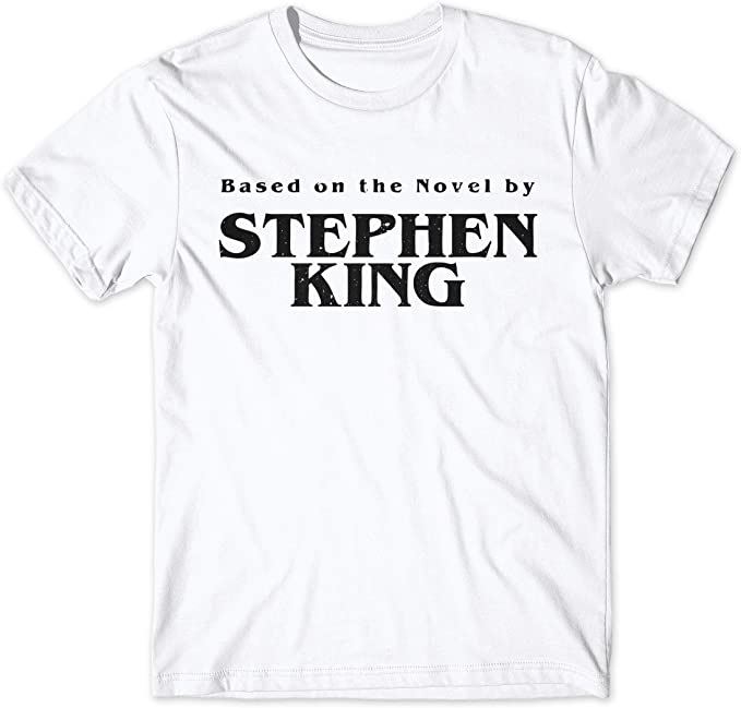 LaMAGLIERIA Camiseta Hombre Based On The Novel by Stephen King ...
