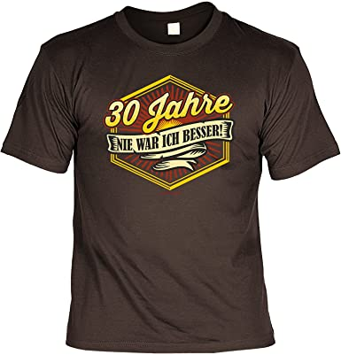 regalo de cumpleaños Regalo de cumpleaños camiseta de 30 ...