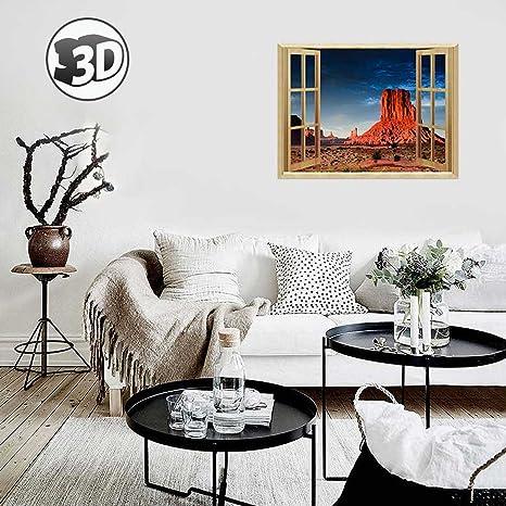 Amazoncom Uniquebella 3D Arizona Desert Landscape Wall Murals