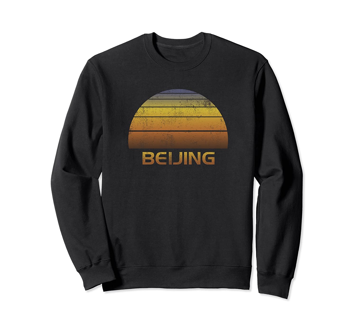 Beijing Souvenir Sweatshirt - Family Vacation Apparel-alottee gift