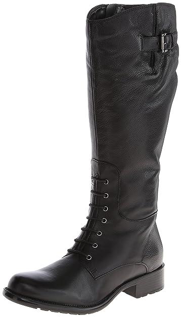 07a5d4a87af CLARKS Women s Mullin Clove Black Leather 6 B - Medium