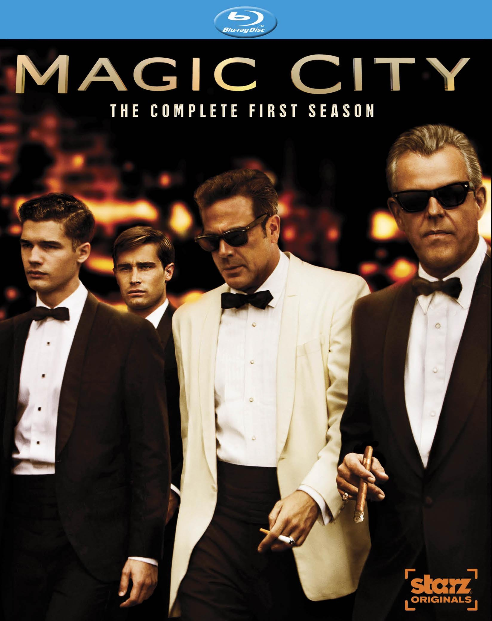 Blu-ray : Magic City: The Complete First Season (3 Disc)