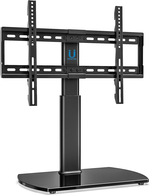 Amazon.com: FITUEYES Universal TV Stand Base Swivel Tabletop TV ...