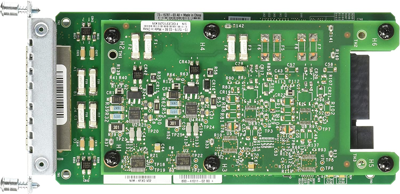 FXO Universal CISCO NIM-4FXO 4-port Network Interface Module TESTED