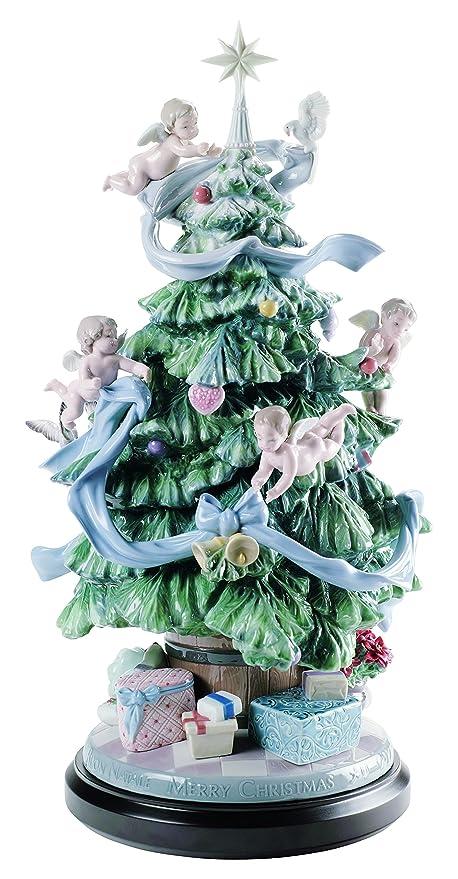 Lladro Porcelain Figurine Great Christmas Tree Limited Edition - Amazon.com: Lladro Porcelain Figurine Great Christmas Tree Limited