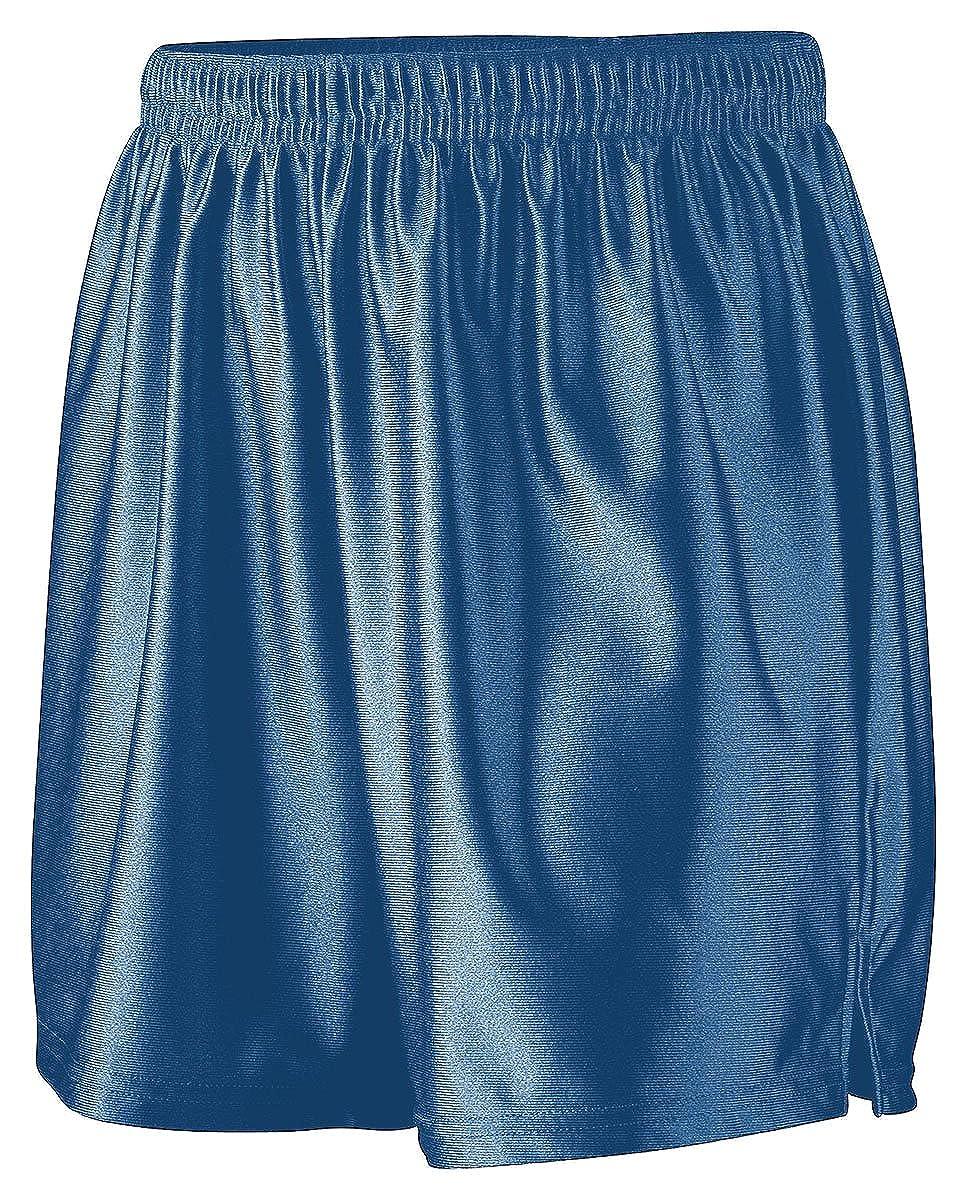 RED Augusta Sportswear Womens Dazzle Drawcord Elastic Short Medium