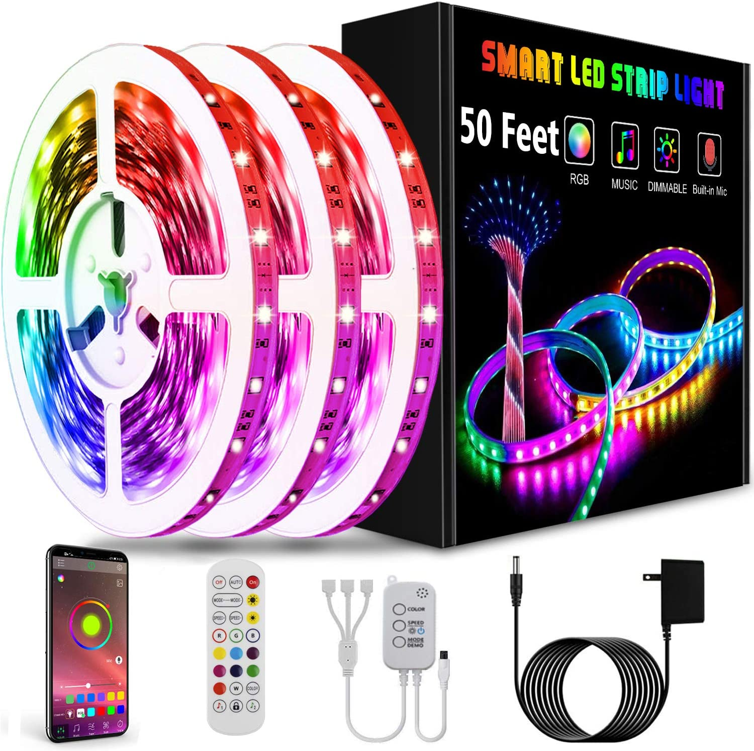 Led Lights Smart Led Strip Lights