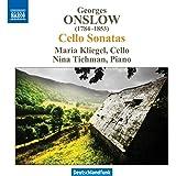Onslow: Sonatas For Cello And Piano (Maria Kliegel, Nina Tichmann) (Naxos: 8572830)