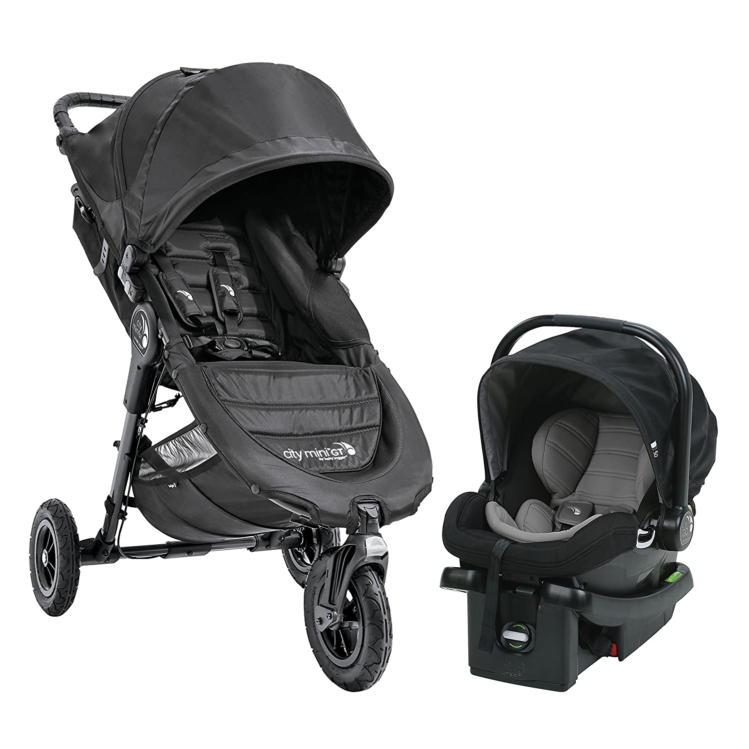 Brand New Baby Jogger City Mini GT Stroller Steel Grey Free Shipping!
