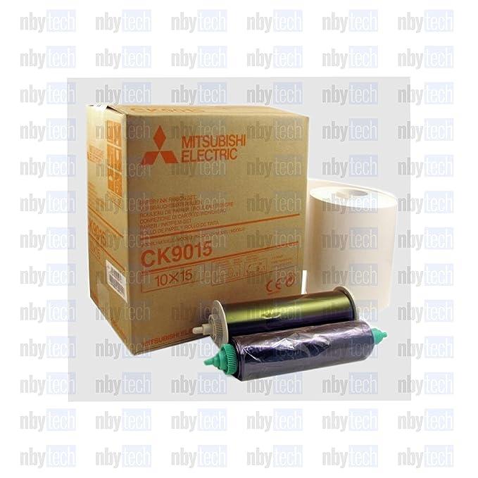 Amazon.com: ck9015 fotos de 10 x 15 cm papel/cinta de tinta ...