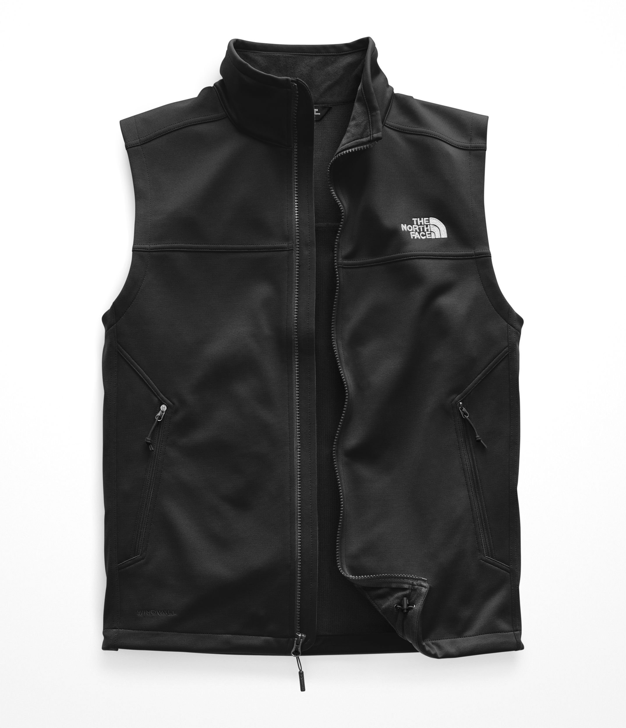 The North Face Men's Apex Canyonwall Vest - TNF Black & TNF Black - S by The North Face