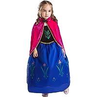 ELSA & ANNA® Princesa Disfraz Traje Parte Las