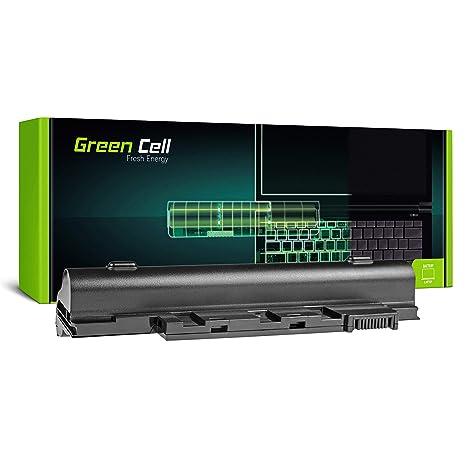 Green Cell AL10A31 AL10B31 AL10G31 Laptop Akku für Acer Aspire One 522 722 D255 D257 D260 D270 (6 Zellen 4400mAh 11.1V Schwar