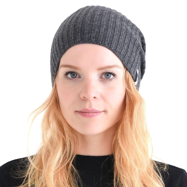 CHARM Casualbox | Genuine Cashmere Beanie Hat - Warm Headwear Men Women 4589777964570