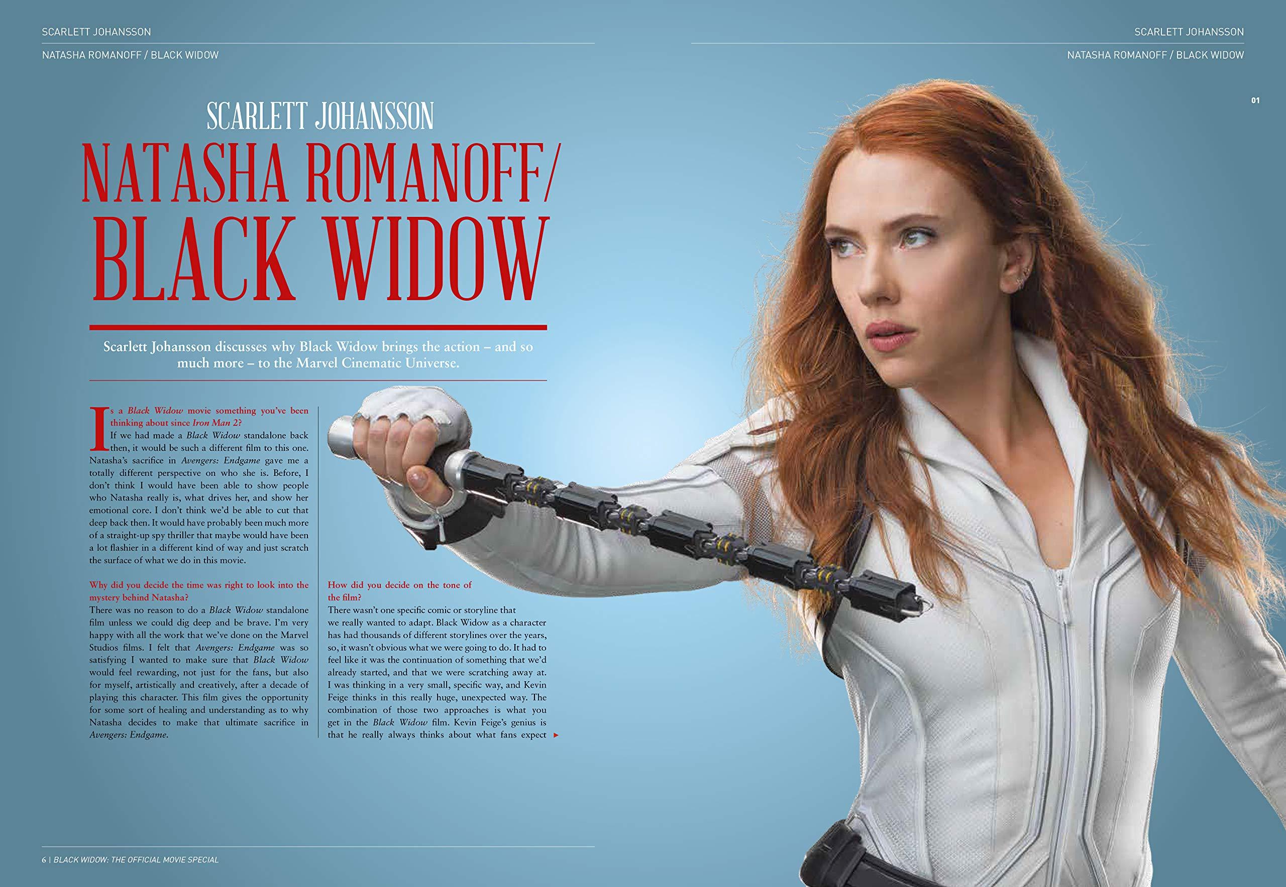Black Widow Official Movie Special Book Titan Comics 9781787733527 Amazon Com Books