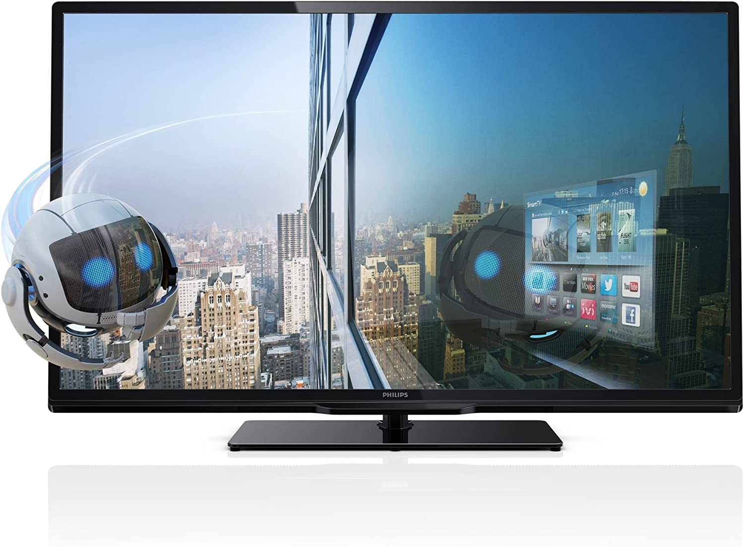 Philips 40PFL4468H - Televisor LED 3D de 40