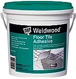 Dap 00136 Weldwood Floor Tile Adhesive, 1-Quart