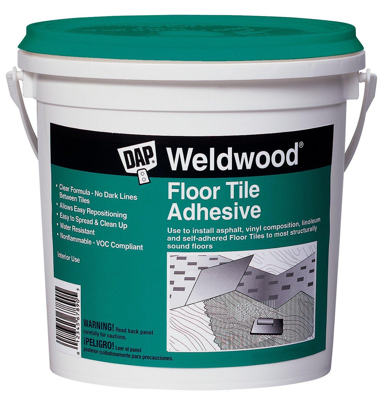 Amazon dap 00136 weldwood floor tile adhesive 1 quart home amazon dap 00136 weldwood floor tile adhesive 1 quart home improvement dailygadgetfo Images