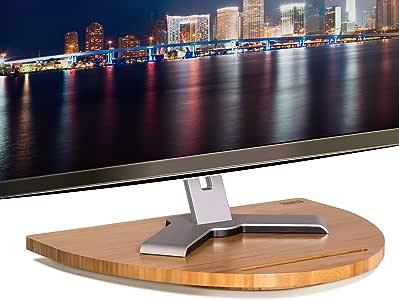 Prosumers Choice - Soporte Giratorio de bambú para televisor de ...