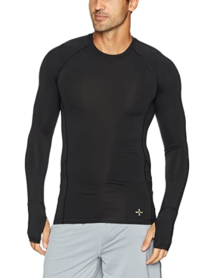 350e315b2c Amazon.com: Tommie Copper Mens Performance Raglan Long Sleeve T-Shirt:  Clothing