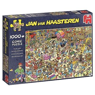 Jumbo 19073 Jan Van Haasteren - The Toy Shop 1000 Piece Jigsaw Puzzle: Toys & Games