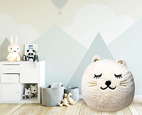 Beanbag For Kids: Soft And Comfortable Stuffed Bean Bag Chair For The Nursery