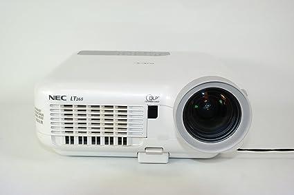 amazon com nec lt265 network video projector electronics rh amazon com Old NEC Projectors Cables NEC VT 47 Projector Manual